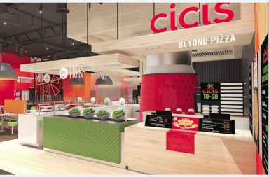 Cici's pizza rebrand by Sterling-Rice Group