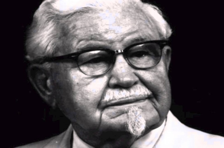 KFC advertising kills the colonel