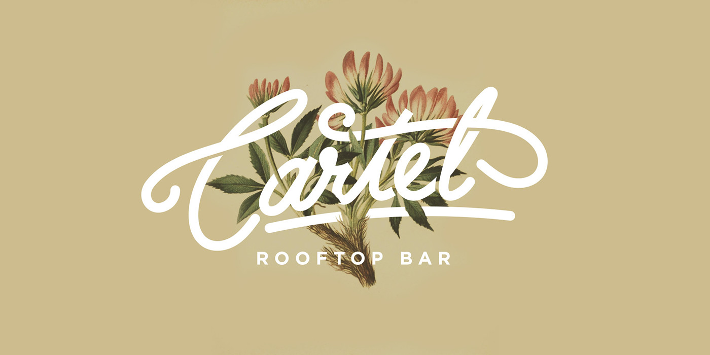 Cartel bar branding and design by Graham Paterson in South Africa