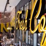 Landwer's Cafe branding by Kapsoola in Israel