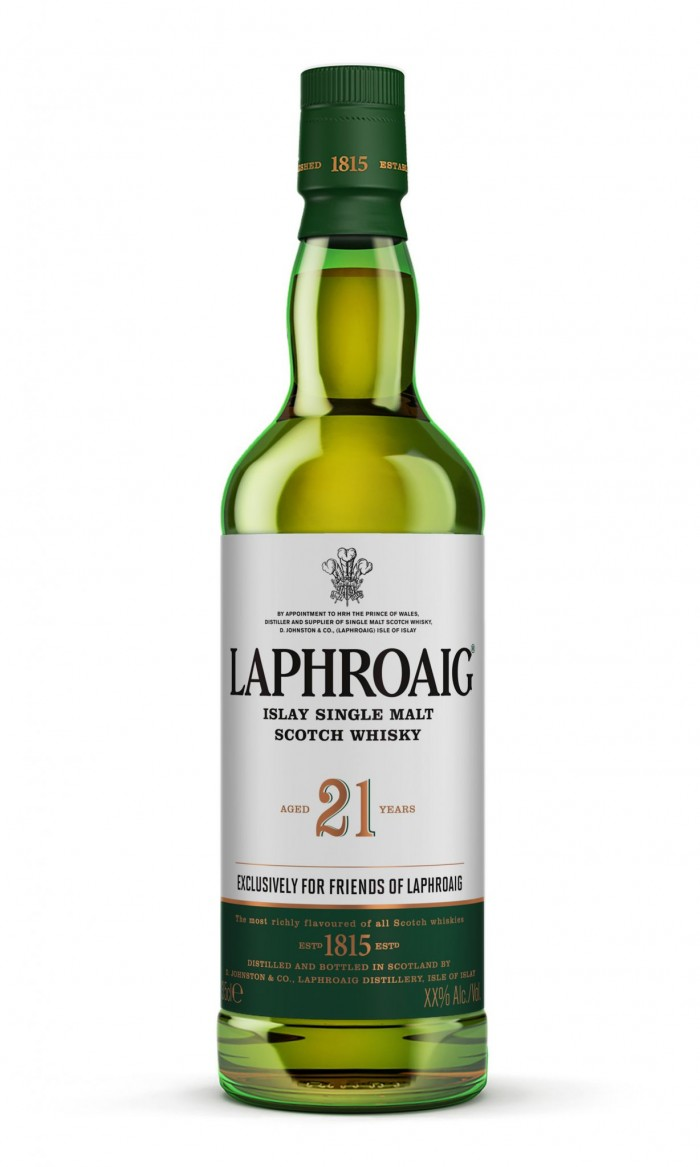 Laphroaid scotch whiskey branding packaging design