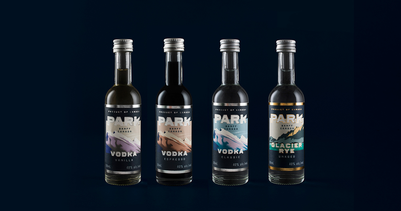 Distillery brand and packaging design by Glasfurd Walker in Vancouver, BC, Canada