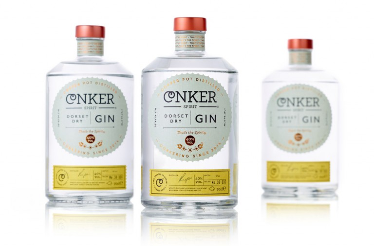 Gin branding and package design by Interabang in London, UK