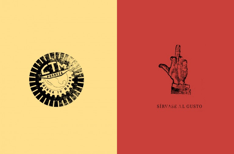 Delincuente Mezcal branding packaging by Estudio Yeye in Mexico