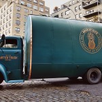 Absolut Elyx Water Truck Boutique experiential marketing design and branding by Sid Lee
