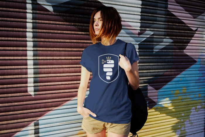 Biscione design tshirt by grits and grids