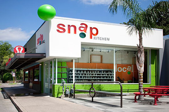 Original Snap Kitchen branding