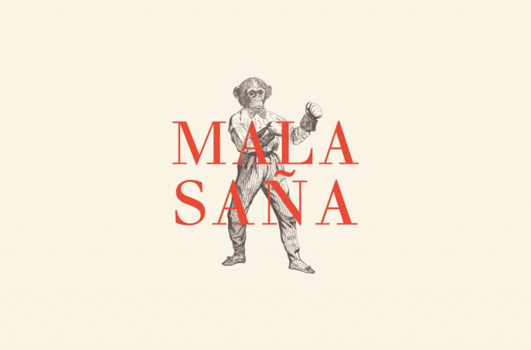 Mala Sana restaurant & bar branding and design by Estudio Altillo in Argentina