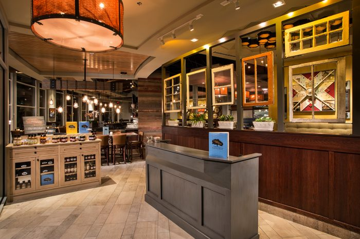 Tupelo Honey cafe restaurant interior design