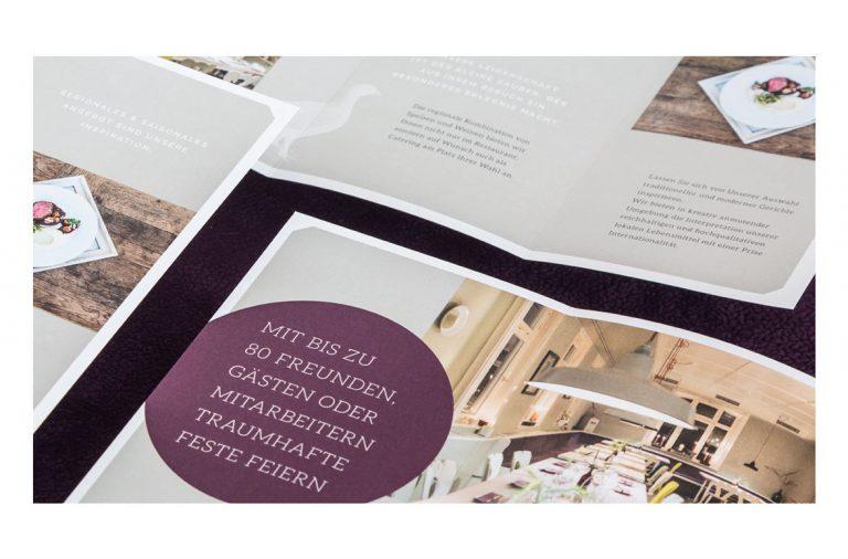 Scheu's restaurant branding by ADDA Studio in Denmark