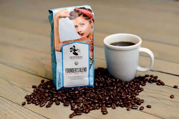 Goshen Coffee restaurant branding by AtomicDust