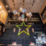 Star Burger restaurant interior design by Sergei Makhno Architects in Kiev Russia