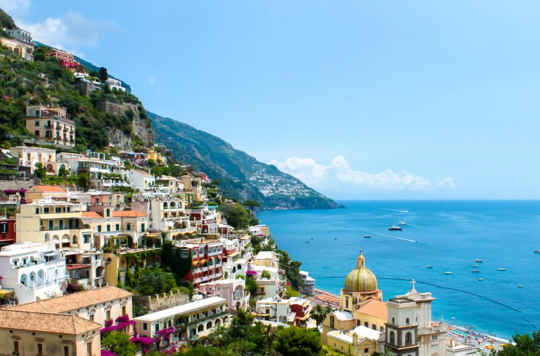 Our journey to Amalfi Italy