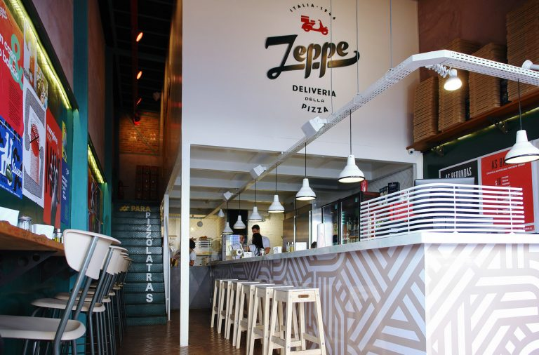 Zeppe restaurant branding by Pos Imagem Design in Brazil