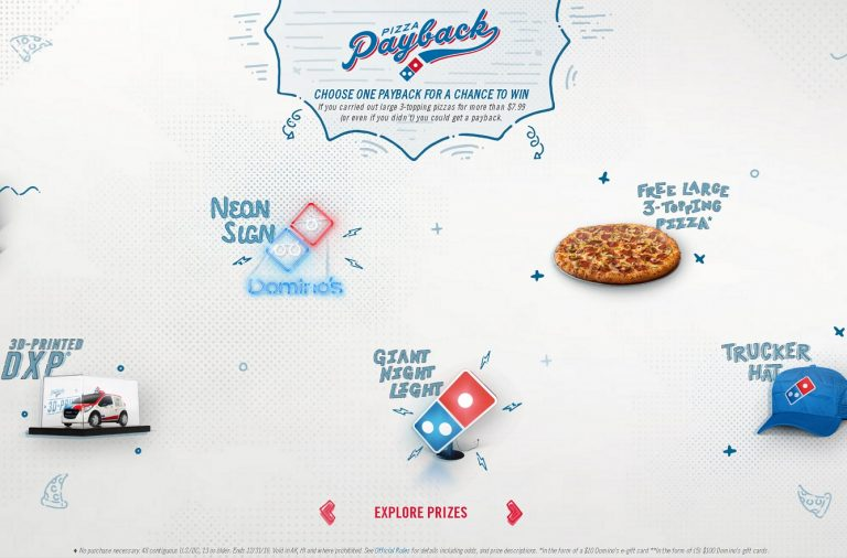 Domino's Pizza Payback advertising marketing strategy by CP+B