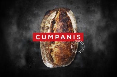 Cumpanis bakery and restaurant branding by Pupila Studio in Costa Rica