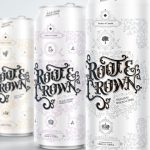 Root & Crown spiked cider and vodka branding and packaging design by Marquis Love in California