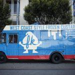 FK custard food truck branding and design by Plinth Agency