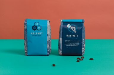 Halfwit Coffee Roasters branding and package design by Firebelly in Chicago