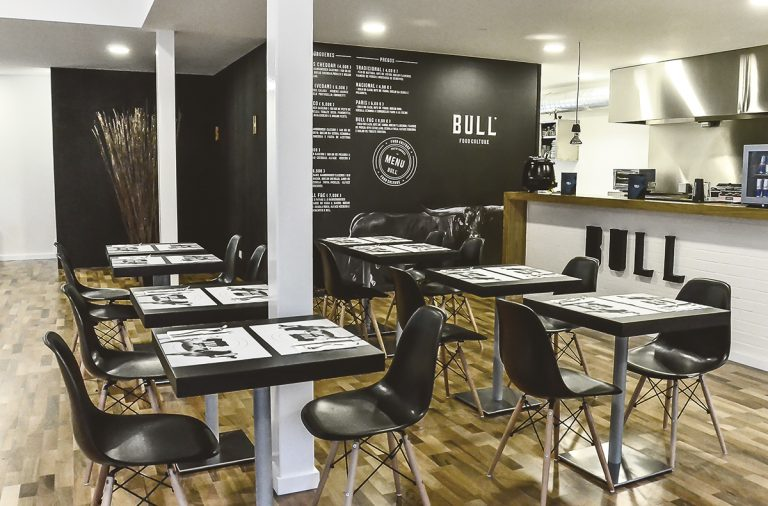 Bull food culture restaurant branding in Portugal by Bullseye