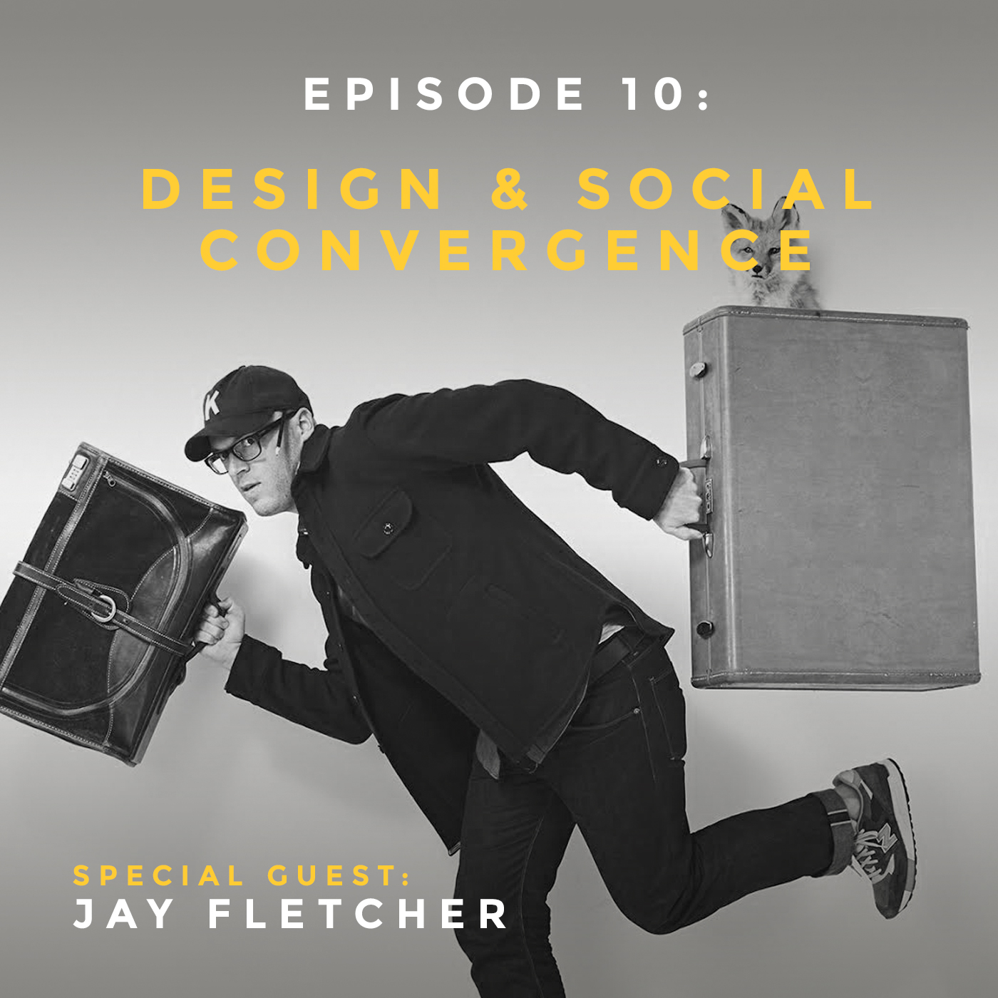 Podcast interview with Jay Fletcher Designs branding, design