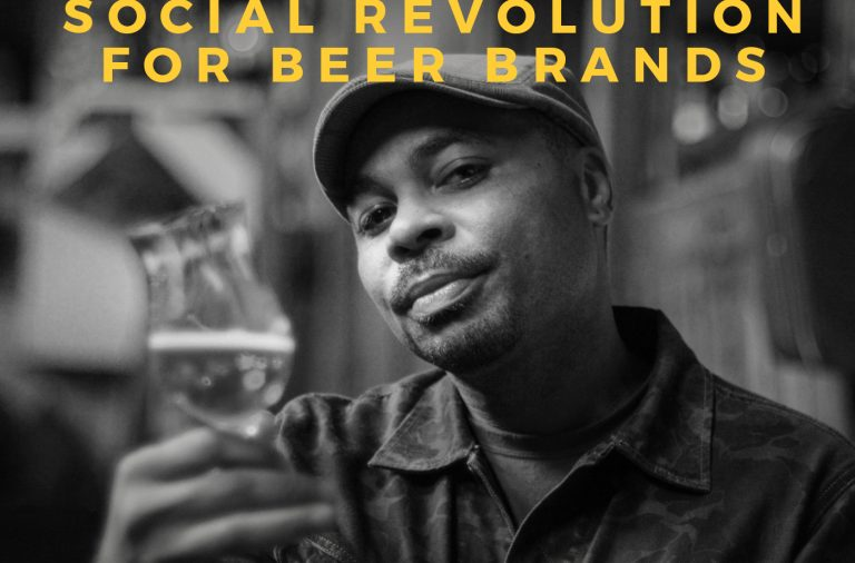 Podcast interview with Dennis Malcolm Byron Ale Sharpton beer and spirits marketing guru