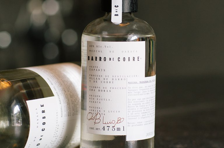Barro de Cobre mezcal spirits branding and package design by Savvy Studio in Mexico