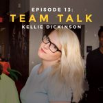 Kellie Dickinson podcast interview and chat team talk with iris Worldwide copywriter
