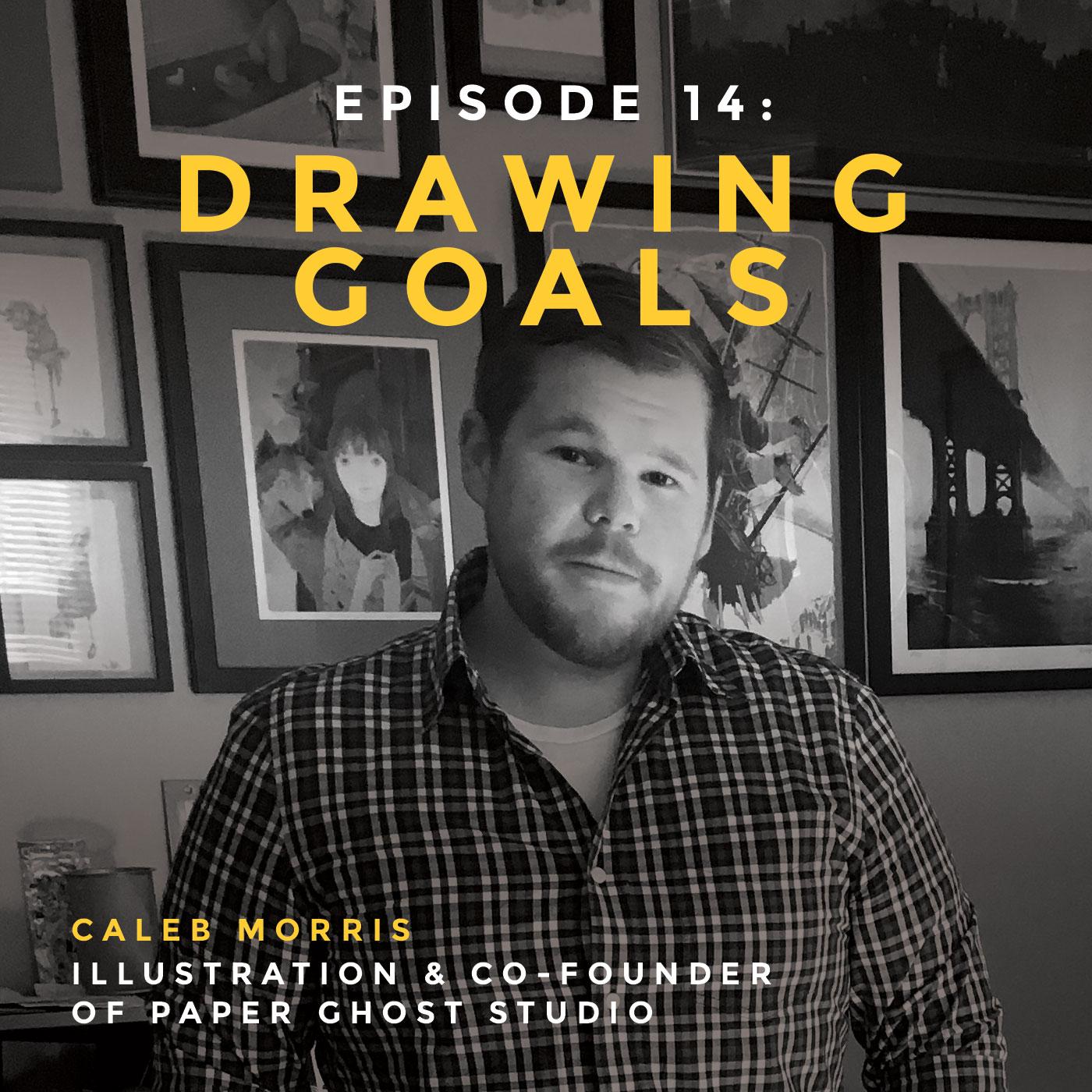 interview with Caleb Morris, illustrator and cofounder of Paper Ghost Studio in Atlanta, Georgia