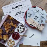 Hipchips restaurant branding by Ragged Edge in England