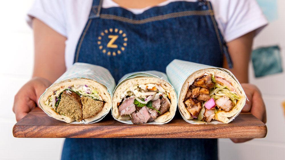 Mister Zee's shish kebab restaurant branding in Australia by Messy