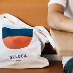 Deluca coffee branding and packaging design by Christopher Doyle in Sydney Australia