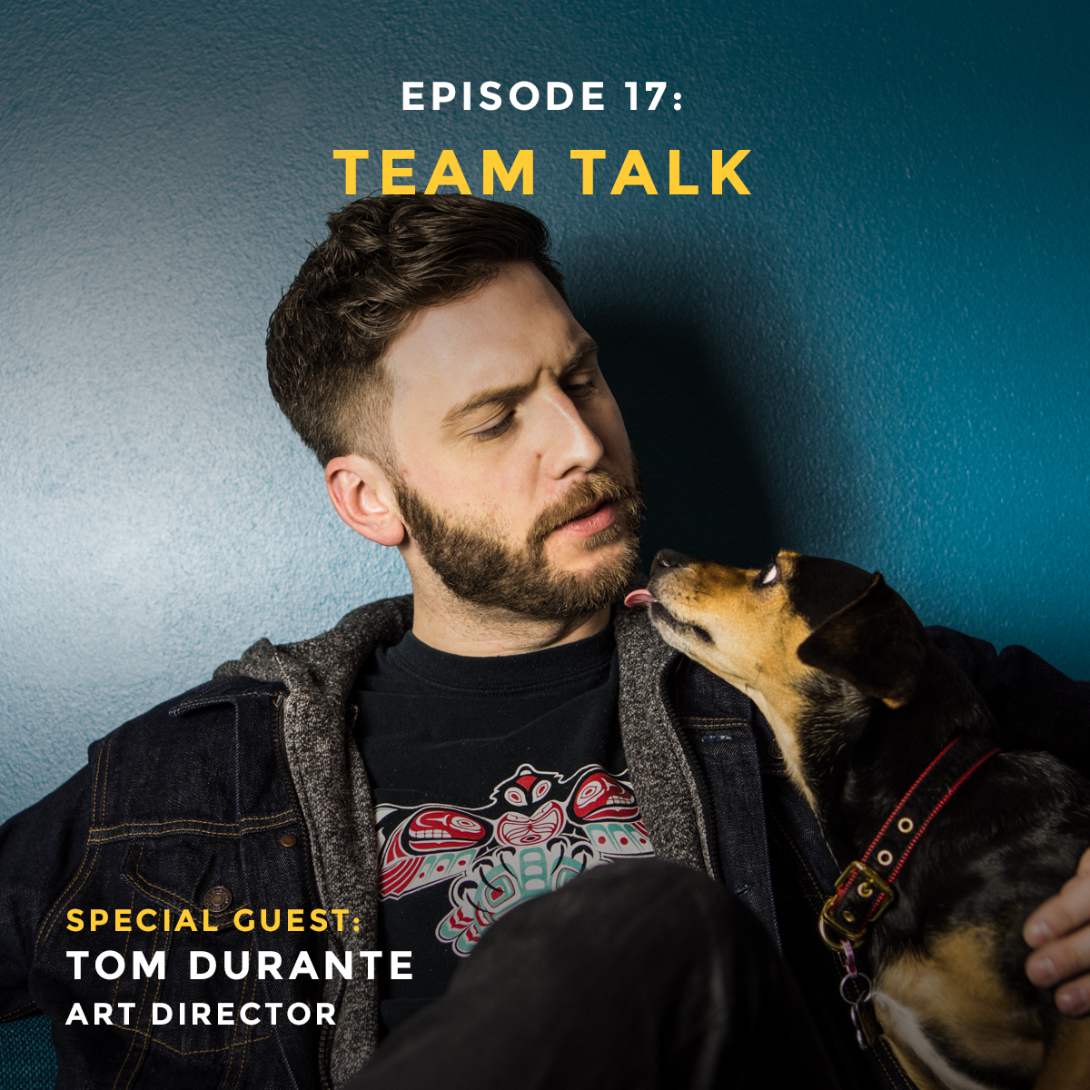Team Talk episode with Tom Durante art director at iris Worldwide and Vigor