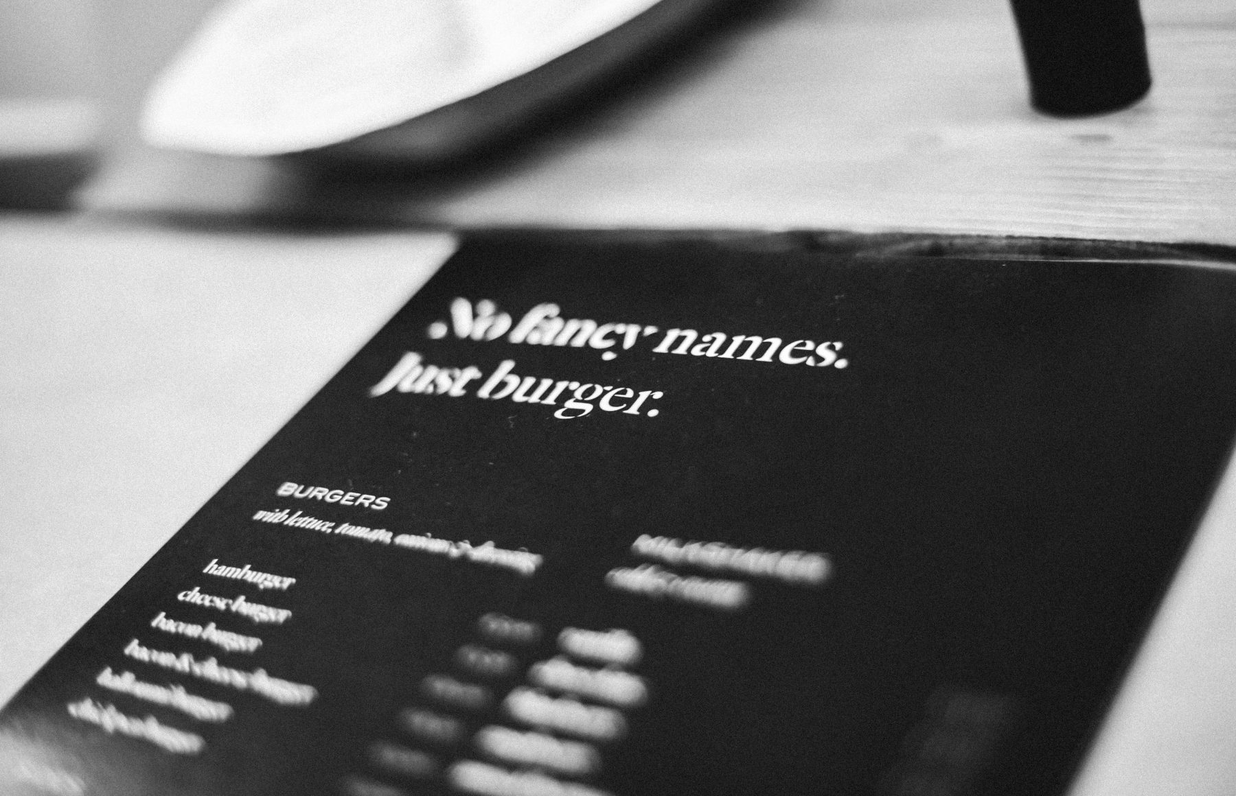 Just Burger fast casual restaurant branding and design by Hangar in Malta