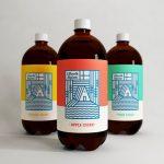 Lillevik Alpine Cider packaging design and branding by MarkBardo in Queensland, New Zealand