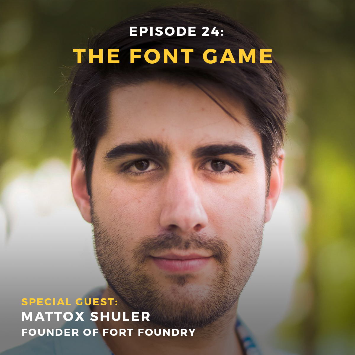 Creative podcast episode 24 with Mattox Shuler of Fort Foundry and Keymaster Games