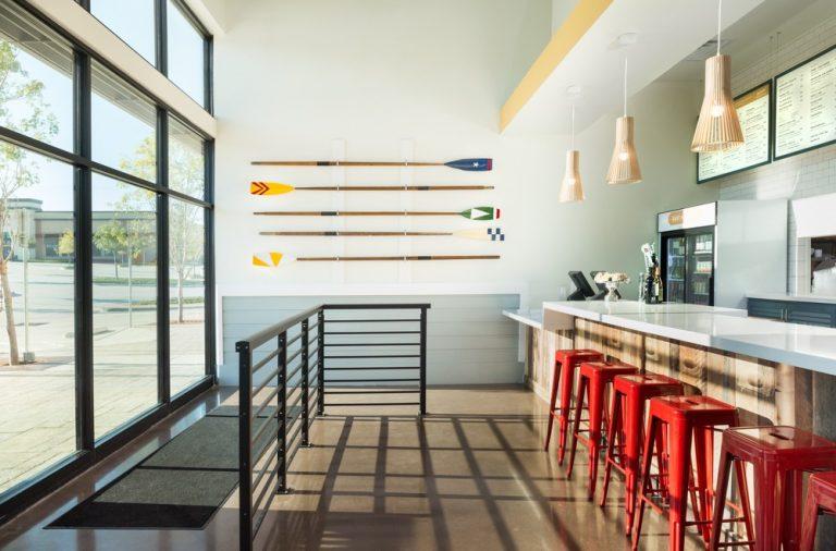 East Hampton Sandwich Company interior design by Studio 11 in USA