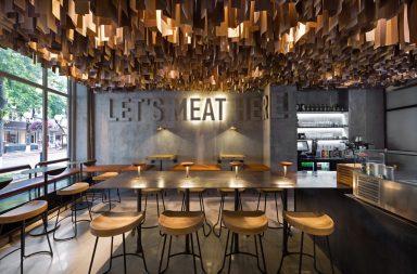 Shade burger restaurant branding & interior design by YOD Studio in Ukraine