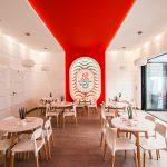 Syrena ice cream shop restaurant cafe branding by Agenza in Poland