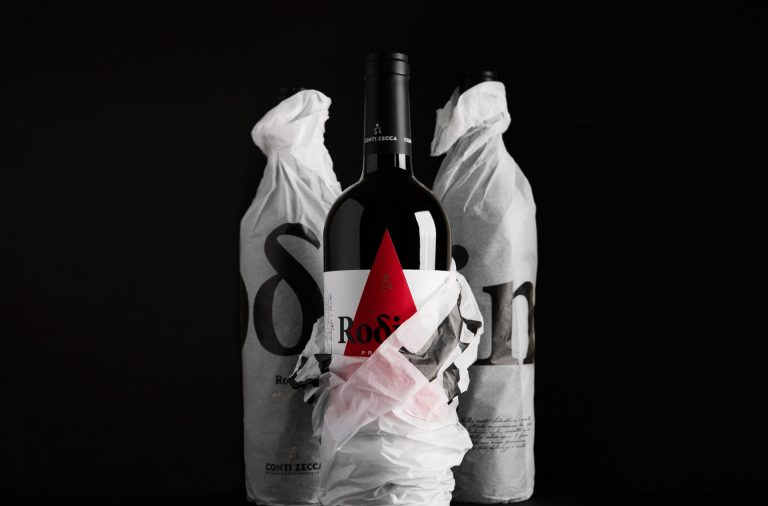 Rodino wine branding, naming and packaging by Carosello in Rome Italy