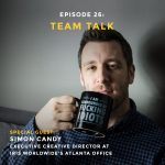 Podcast interview with Executive Creative Director of iris Worldwide Simon Candy