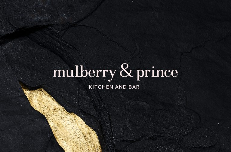 Mulberry & Prince restaurant and bar branding and design by Kim Van Vuuren & Atelier interior design studio in South Africa