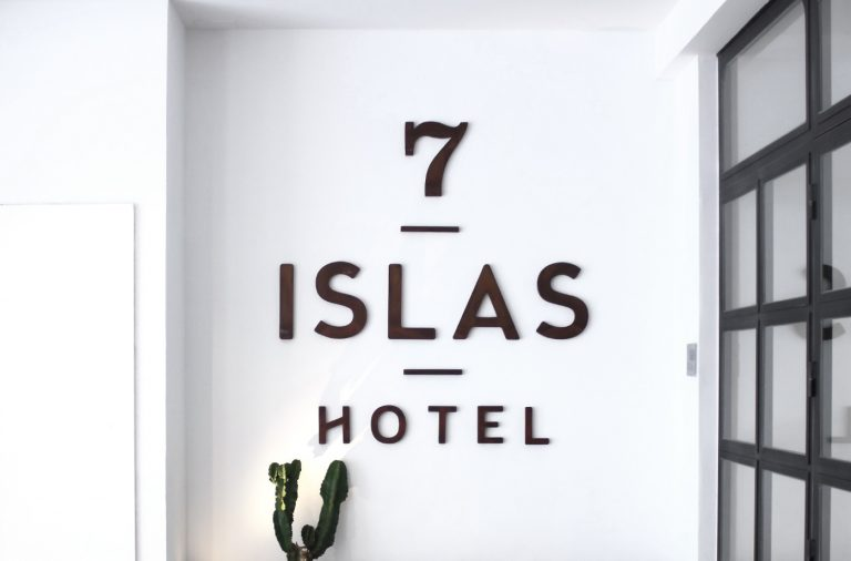 7 Islas hotel boutique branding and design by Studio Patten in Madrid Spain