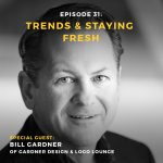 Podcast interview with Bill Gardner of LogoLounge and Gardner Design