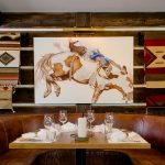 Chuck's Steakhouse restaurant branding by Glasfurd Walker in Canada