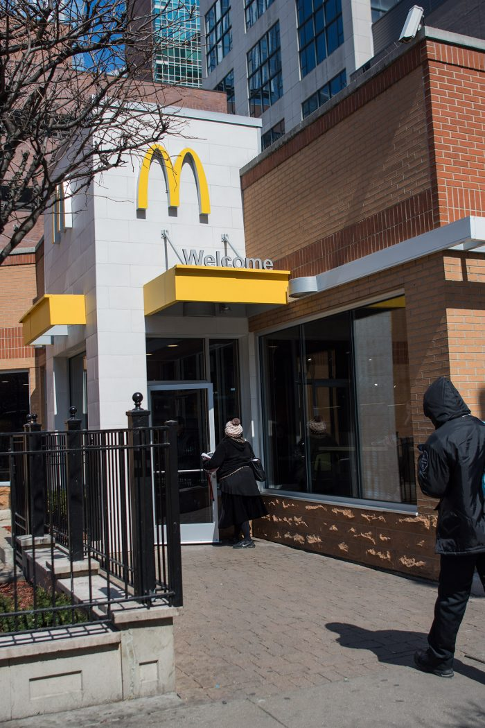 McDonald's new interior design and participation focused experience