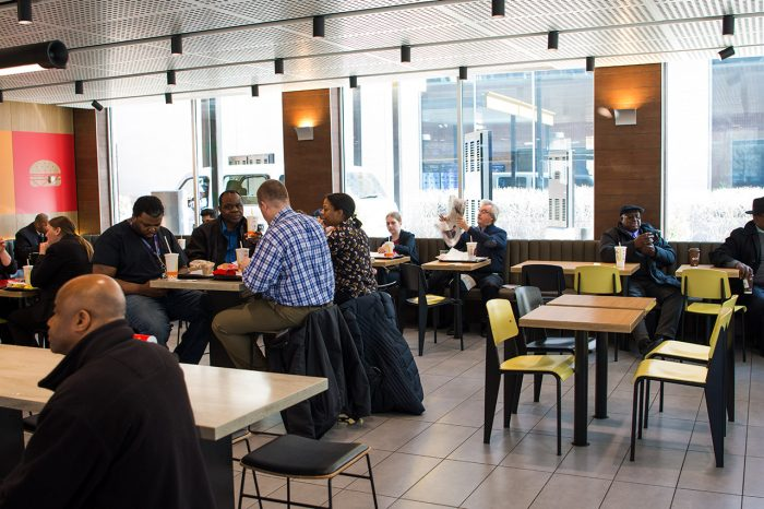 Mcdonalds Interior Design mcdonald's of the future - how the brand is stepping up its game