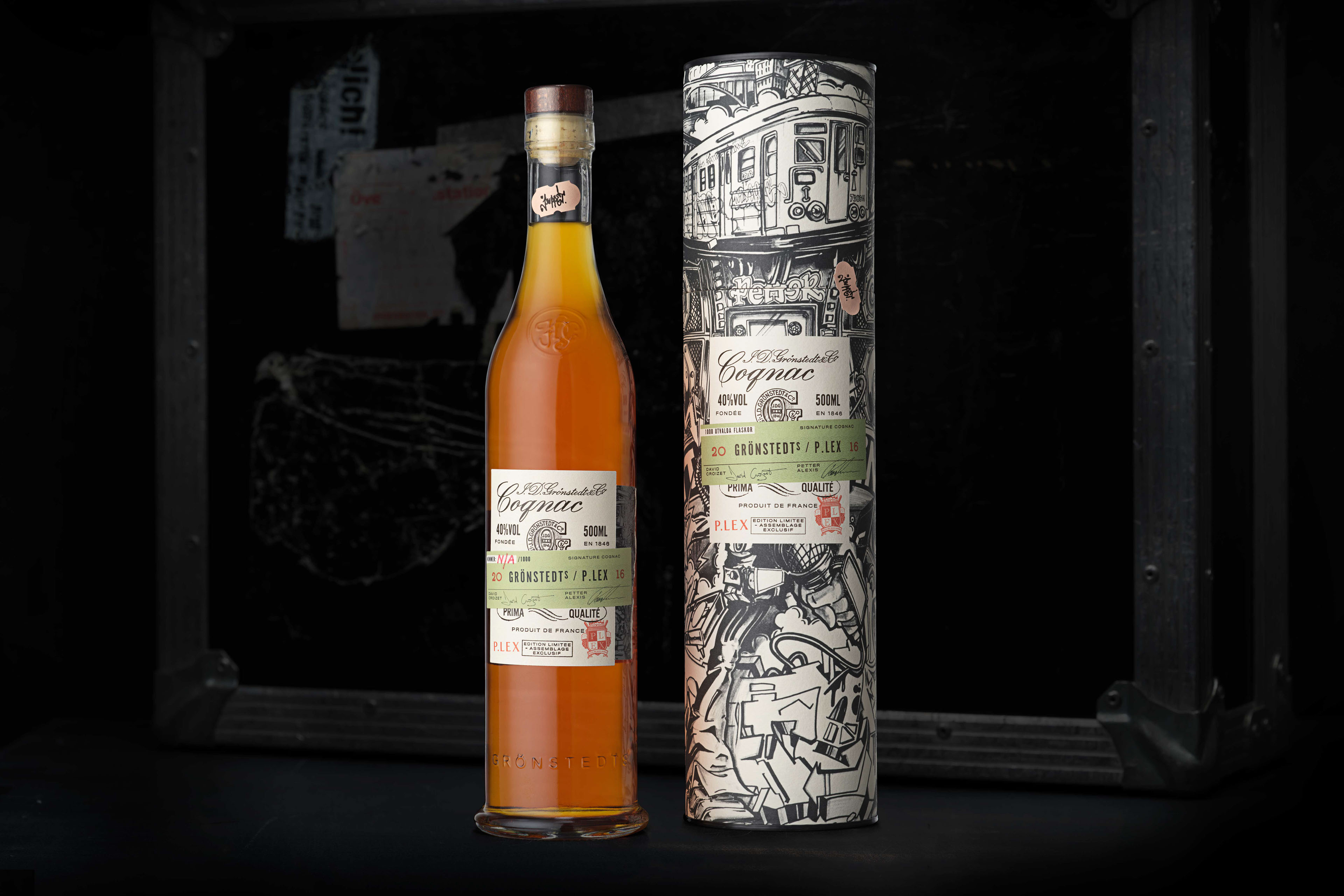 The rocket pizza food truck grits grids - Gronstedt S Cognac Spirits Branding Packaging