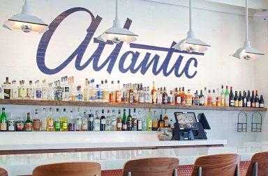 Atlantic Eatery restaurant branding and design by Focus Lab in Savannah, Georgia