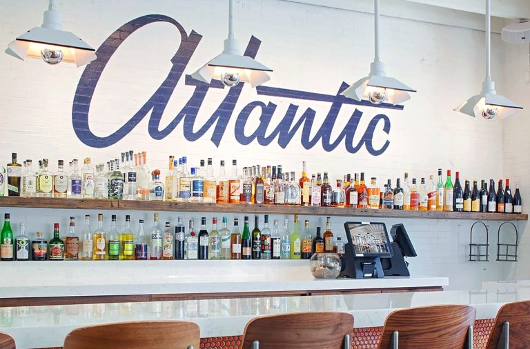 Atlantic Eatery restaurant branding and design by Focus Lab in Savannah, Georgia